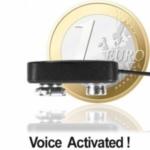 Micro-Clip-Sender, Funk-Wanze (nur Fingernagelgross). Funkbasiertes Abhörgerät mit hoher Ausgangsleistung (30 Milliwatt) für relative Reichweite bis zu 3000 mtr.