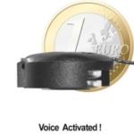 Minisender im Knopfzellenformat (Funk-Wanze, klein wie Münze). Funk Abhörgeräte mit hoher Ausgangsleistung (10 mW), für relative Reichweite bis zu 1000 mtr.