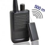Abhörwanze komplett mit passendem Empfänger im Set. Abhörgeräte, klein, preiswert, robust, leicht bedienbar. Reichweiten bis zu 500 mtr. möglich.