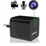 HD Spionagekamera mit Ton, getarnt im Mini USB-Netzteil für besonder unauffällige Langzeit Videoüberwachung. Glasklare Videoaufzeichnung mit Auflösung 1920 x 1080. Uneingeschränkte Betriebsdauer mit 220-V Strom.