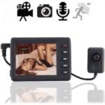 UMTS Fern Videoüberwachung inkl. Knopflochkamera mit dem Smartphone. Live-TV Videos über das UMTS-Handynetz. Ideal für mobile, flexible TV-Überwachung. Diskret einsetzbar in Fahrzeugen, leicht tarnbar in Gegenständen od. Personen.