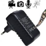 IP/LAN Spionagekamera zur Videoüberwachung mit Ton versteckt im Netzteil. Video, Foto & Ton übers Netzwerk mittels Handy betrachten. 220-V, kein Akku notwendig. Automatische Aufzeichnung bei Bewegungserkennung. Betriebszeit: unbegrenzt durch Netzstrom.